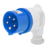 Plug Top 220 volt 32 amp 3p+E Angle