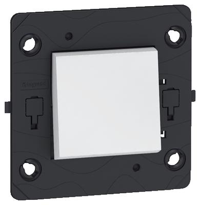 Arteor (Single Pole) 10Amp 1 Gang Intermediate Square - White   LV0501.0517
