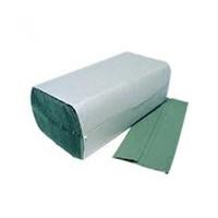 1Ply Green V-Fold Hand Towel, 5000/Pack