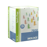 Moldex, Spark Plugs Ear Plugs 200/Case, 35dB