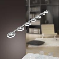 Paul Neuhaus Bagel Warm White 7 x 4.2W LED Linear Pendant | LV2002.0013