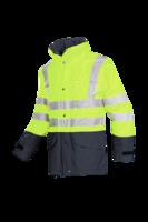 Sioen Brighton Hi-vis rain jacket