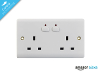 Mi|Home Double Socket White