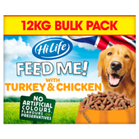 HiLife FEED ME! Complete Moist Menus - Turkey, Chicken & Bacon 12kg