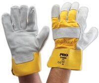 Handyman Gloves Yellow-Grey
