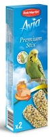 Avia Budgie Premium Sticks with Honey 45g x 8