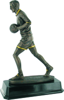 25cm Gaelic Runner (Male) - Bronze/Gold Trim