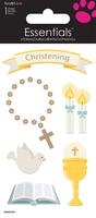 >< Christening Essential Craft Sticker.