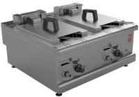 Countertop Fryer Twin Pan 4 Basket 10.5Kw 3ph 700x650x305mm