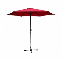 Parasol 2.75m in Red
