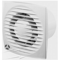 Aura-ECO 150mm Low Profile Fan with Timer for Wall / Ceiling