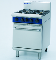 Blue Seal 4 Burner Gas Oven Range 600x812x1085mm 34.6kw