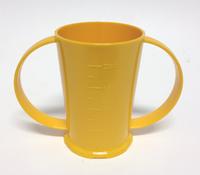 2 Handled Beaker Yellow - 250ml
