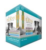 Burns Pouch Adult Dog - Mixed 400g x 6