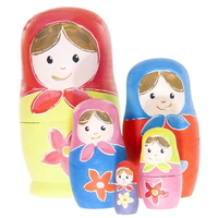 Paint Your Own Matryoshka Dolls