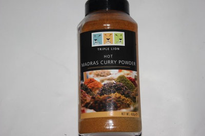 Curry Powder Hot Madras 450g