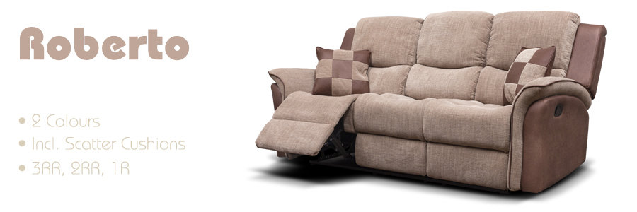 Roberto Fabric Sofa