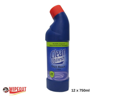 THICK BLEACH 12x750ml
