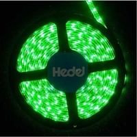 BSR-3528EP-300G | 3528 GREEN STRIP LED 5M - 300 LEDS