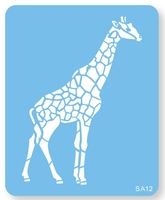 STENCIL GIRAFFE FULL BODY