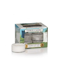 Yankee Classic Tea Lights Clean Cotton