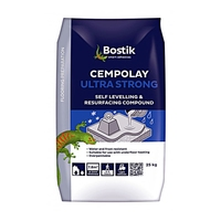 CEMPOLAY ULTRA FLOOR LEVELLER 20MM FLEXIBLE 25KG BLUE BAG EXTERIOR USE BUT MUST BE COVERED