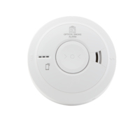 OPTICAL SMOKE ALARM, 3000 SERIES, MAINS POWERED WITH 10 YEAR RECHARGEABLE LITHIUM CELL BACK-UP, EASI-FIT BASE.