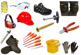 Workwear PPE Tools Fixings