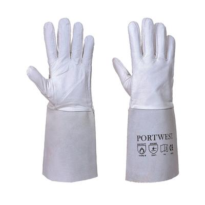 Portwest Tig Welders Gauntlet Grey