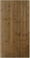 Closeboard gate 900mm x 175m brown