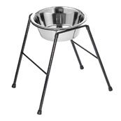 "Classic High Single Feed Stand - for an 11"" bowl x 1"
