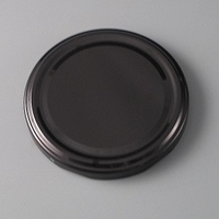 82mm Black Twist off Cap