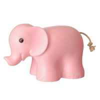 Heico children's lamp - pink elephant