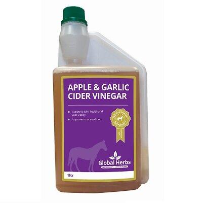 Global Herbs Apple & Garlic Cider Vinegar 1L