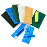 Scouring Pads and Holders