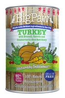 Little Big Paw Dog Can - Turkey Cranberries Broccoli Carrot & Herbs 390g x 12