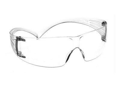 3M SF201 Securefit Safety Glasses Polycarb Clear Lens C/W AS+AF Coating