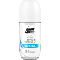 Right Guard Total Defence 5 Women Invisible Roll On 50ml