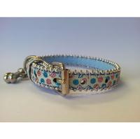 Pet London Dog Collar - Bubblegum Ras-Blue Medium x 1