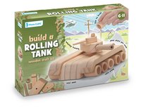 Wooden Tank Craft Kit (Priced in singles, order in multiples of 2)