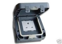 IP66 WATERPROOF SINGLE 13A SOCKET