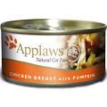 Applaws Cat Can - Chicken & Pumpkin in Broth 70g x 24