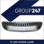 "9"" LED SCENE LAMP"
