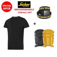SNICKERS 9110 KNEEPADS, SNICKERS 9005 BELT, SNICKERS 2502 T SHIRT
