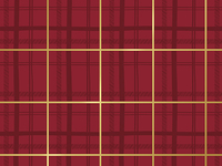 R70801M5 TARTAN RED/GOLD METALLIC