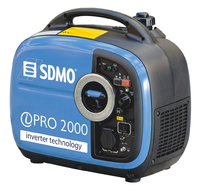 The SDMO PRO 2000 2kW Petrol Generator with Yamaha MZ279, OHV engine