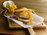 American Chicken Fillets(Battered) Halal-GOLDEN VALEY /Cargill 30x120gr