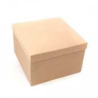 BOX GIFT & LID 300x300x200mm  NATURAL