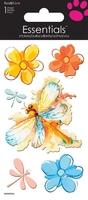 >< Watercolour Dragonflies Essential Craft Sticker.