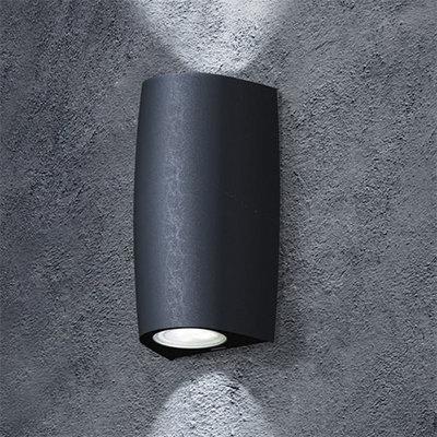 Fumagalli Marta 90 Up/Down LED Wall Light Black